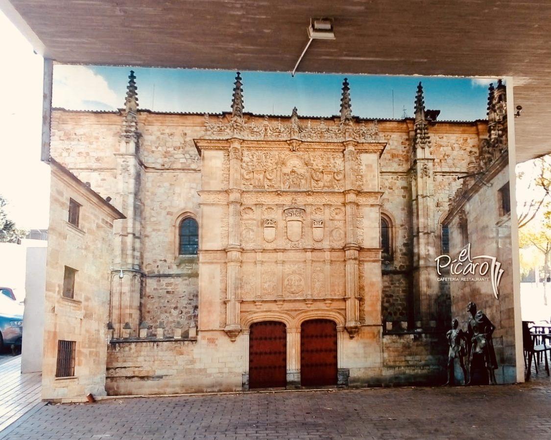 Rotulación fachada El Pícaro