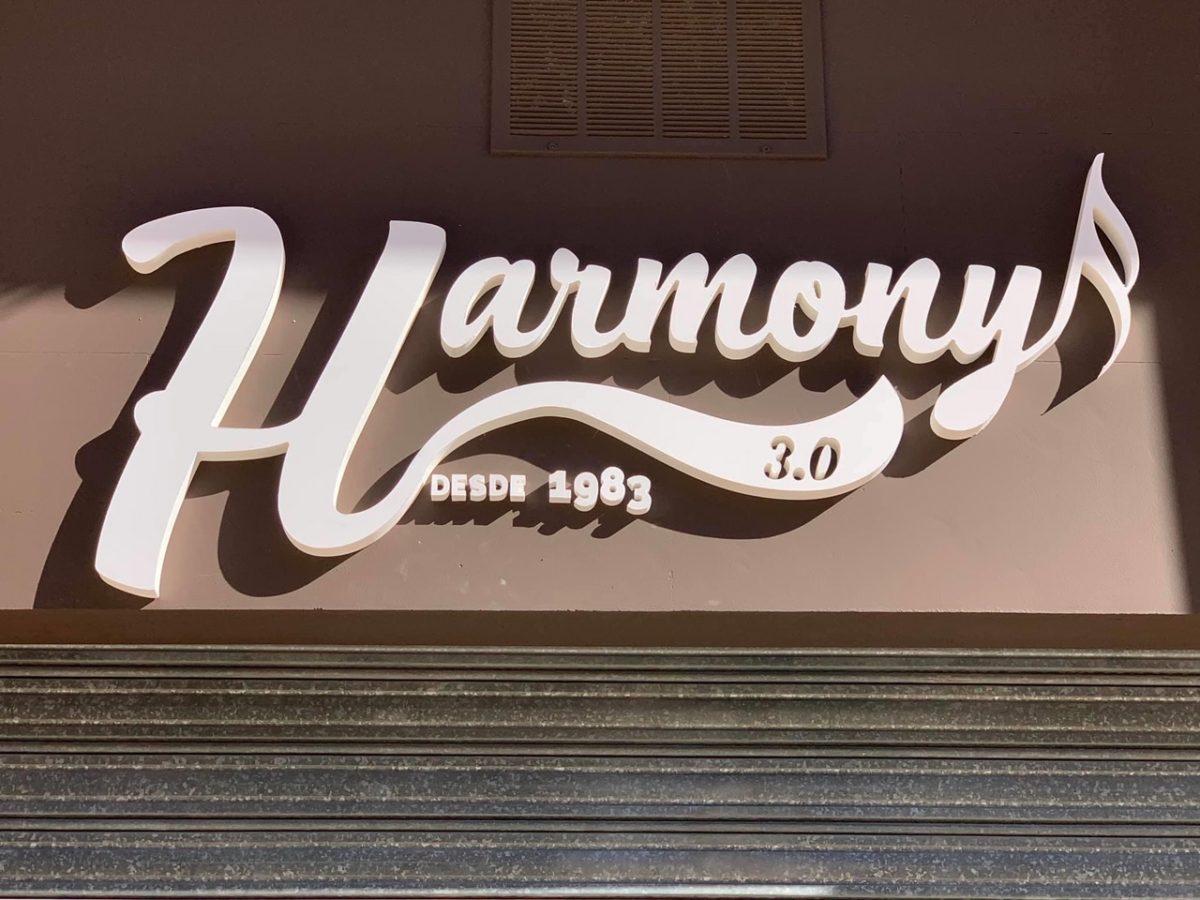 Letras corpóreas para Harmony