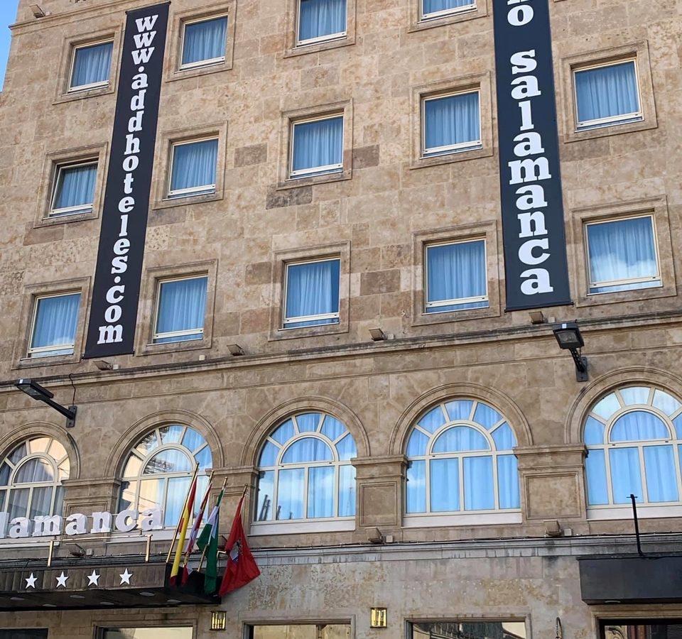Lona gran formato Hotel Soho salamanca