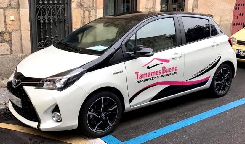 Rotulación coche Tamames Bueno
